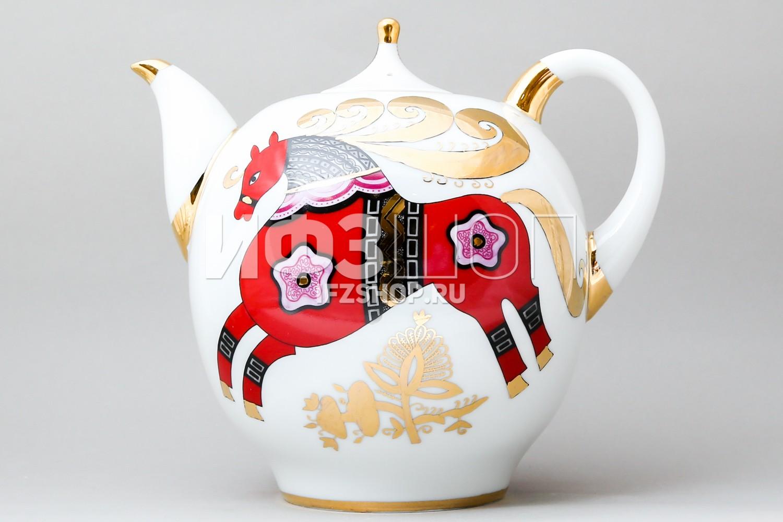 Взрат и обмен фарфорового чайника